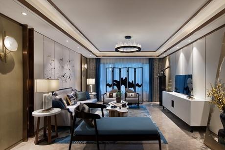 丽都豪庭130㎡新中式3室2厅2卫