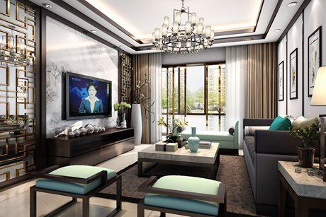 禹州老城里120㎡新中式三室两厅