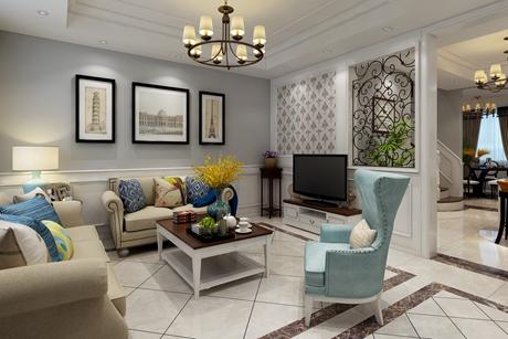 紫园180㎡简美三室两厅