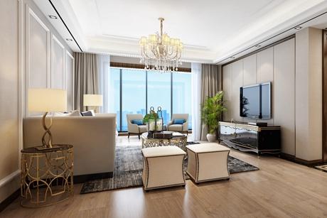 虹口金色家园120㎡新古典3室2厅2卫