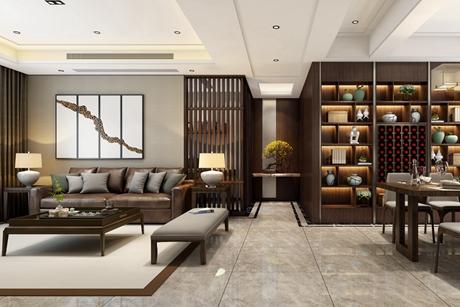 正荣国领145㎡新中式别墅