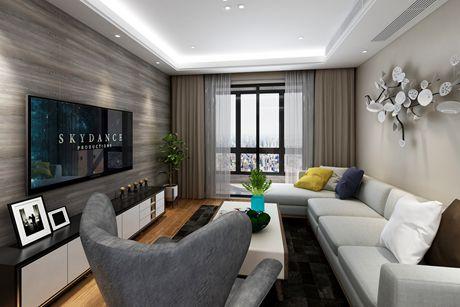 闵行一品漫城70㎡现代简约两室二厅一厨一卫