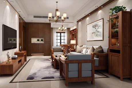 嘉定禹州老城里147㎡新中式四室两厅