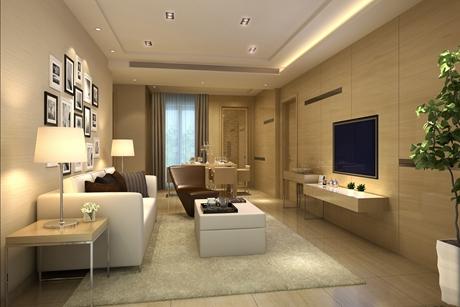 红树林家园90㎡现代简约三室两厅