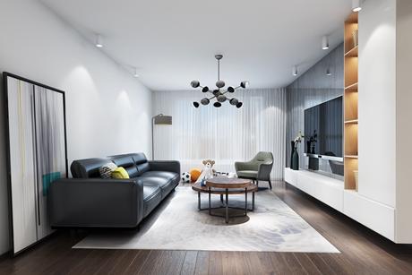 泰欣家园130㎡现代简约三室两厅
