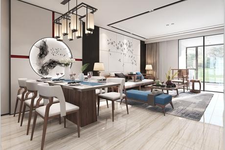 临港海洋小区99㎡新中式3室2厅2卫