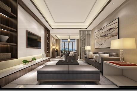 金山新城142㎡新中式三室两厅