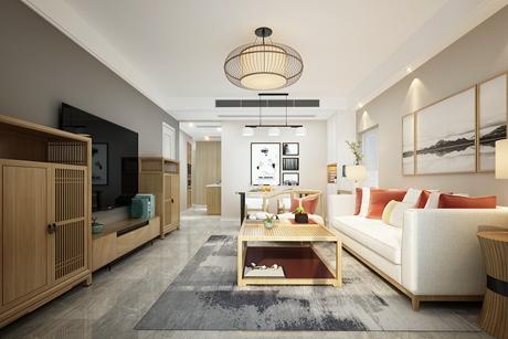 海信花苑100㎡现代简约两室两厅