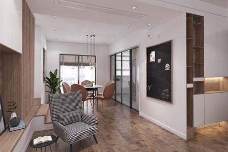 风度国际135㎡现代简约3室2厅2卫