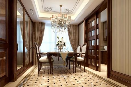 徐汇尚汇豪庭125㎡新古典三房二厅