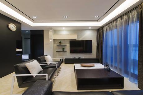 徐汇汇翠花园160㎡现代简约3室2厅1卫