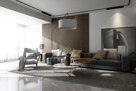嘉定嘉茵苑120㎡现代简约两房二厅