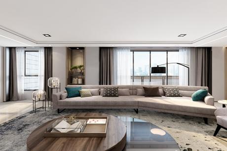 黄浦丽园103㎡现代简约2室2厅