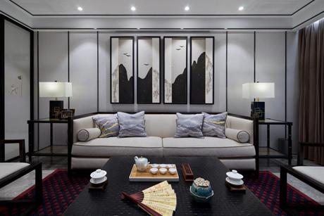 上海滩新昌城146㎡中式五室二厅