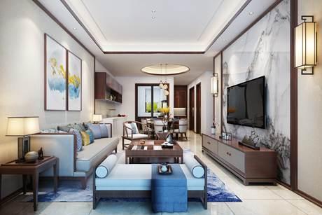 同济精萃160㎡新中式别墅