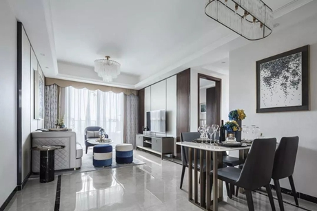普陀大华.怡和华庭100㎡新中式公寓