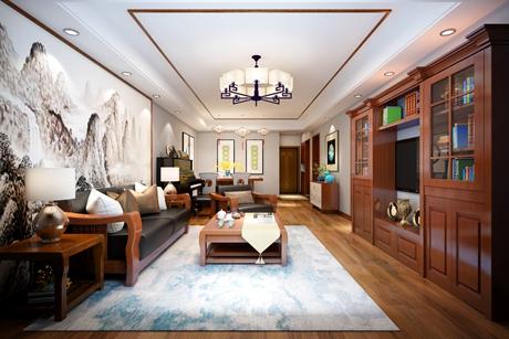 汽车公寓86㎡中式2室1厅