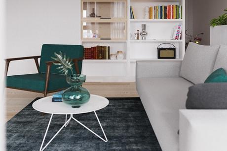 普陀品尊国际公寓 62㎡现代简约一室一厅一卫