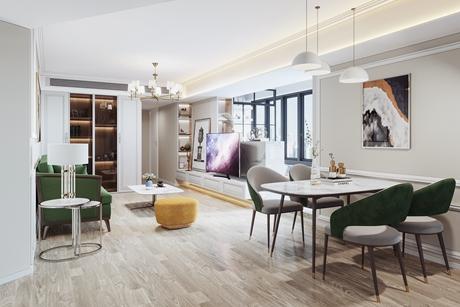徐汇东方曼哈顿80㎡轻奢公寓