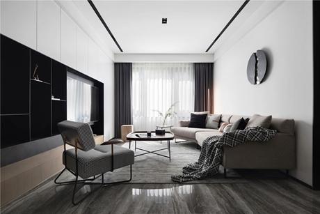 万达华府140㎡现代简约公寓