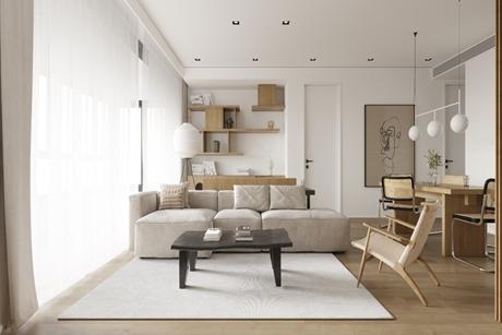 嘉定默境 120㎡现代简约3室2厅