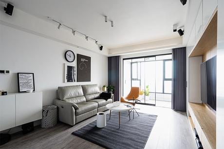 普陀中海豪庭135㎡现代简约3室2厅