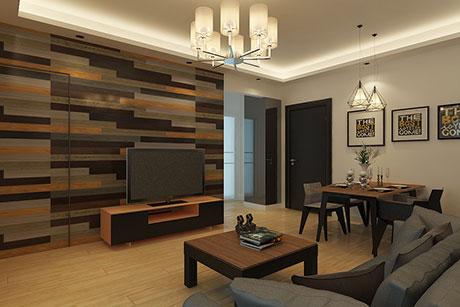 天山新城65㎡现代简约一房一厅
