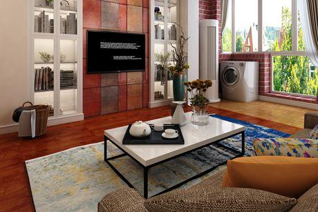 白玉兰馨园82㎡地中海三房二厅