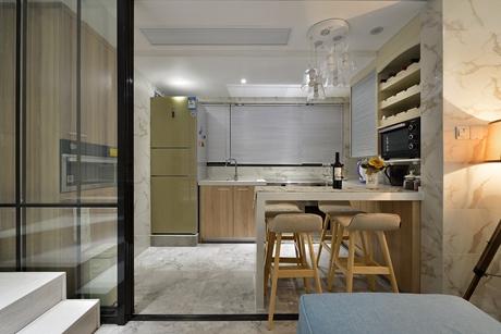 普陀同进理想城75㎡现代简约2室1厅