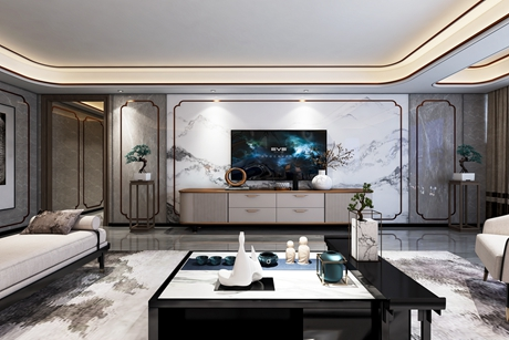 上海院子160㎡中式4室2厅