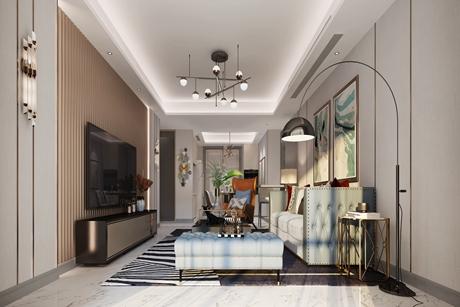 普陀中环家园110㎡轻奢3室2厅
