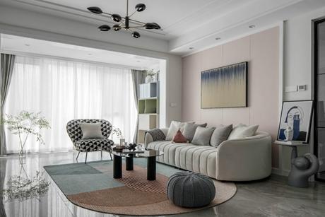 拾逸122㎡现代简约3室2厅