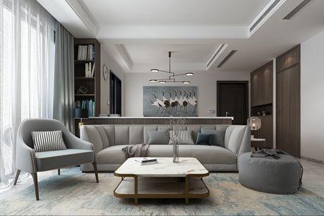 高行绿洲131㎡现代简约三房两厅