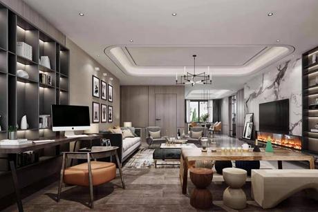 祥和名邸150㎡现代简约三室两厅两卫
