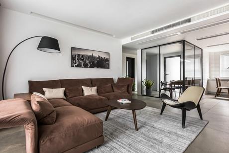 玉门花园150㎡现代简约三室两厅两卫