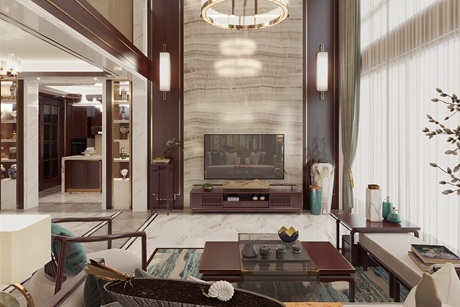 回味570㎡新中式独栋别墅