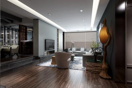 虹口河滨大楼120㎡现代简约2室2厅
