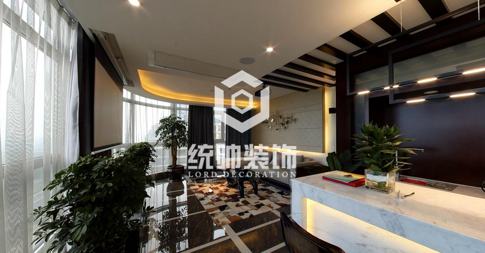 浦东湖畔现代城450㎡现代简约别墅