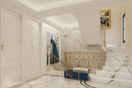 白色浪漫380㎡欧式别墅