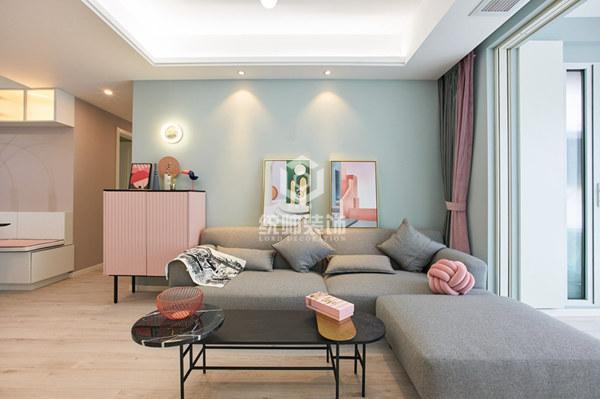 中天九溪诚品90㎡现代简约3室2厅2卫