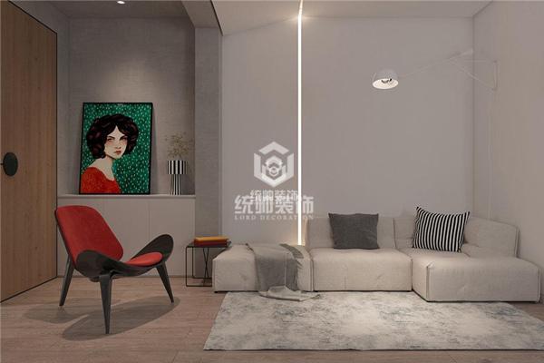 米兰诺贵都80㎡现代简约2室2厅