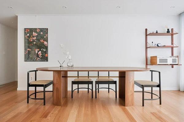 90平米两室一厅装修无电视 简约清新改书房又实用!