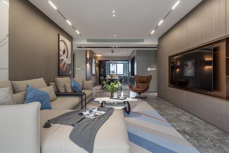 嘉定龙湖天璞150㎡现代简约4室2厅