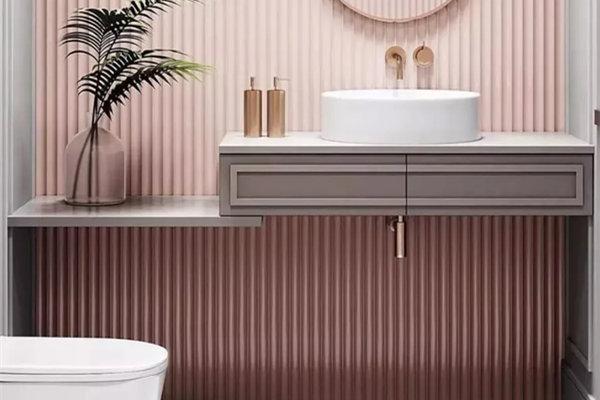 """家装卫生间怎么做有高级感 """"拆""""字决让卫浴空间质感升级!"""