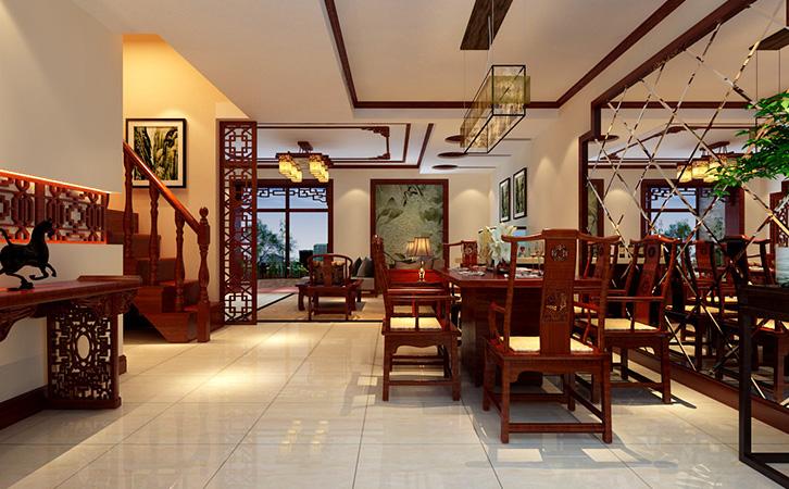 中式别墅装修报价和什么有关,家装设计有哪些要点