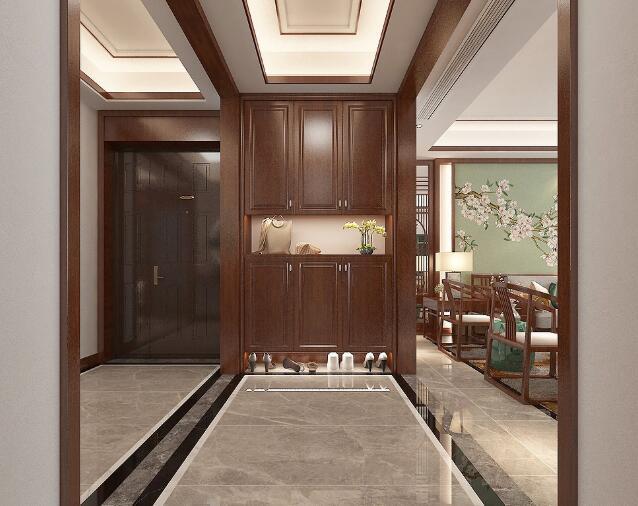 180㎡中式风格装修设计,有韵味的家