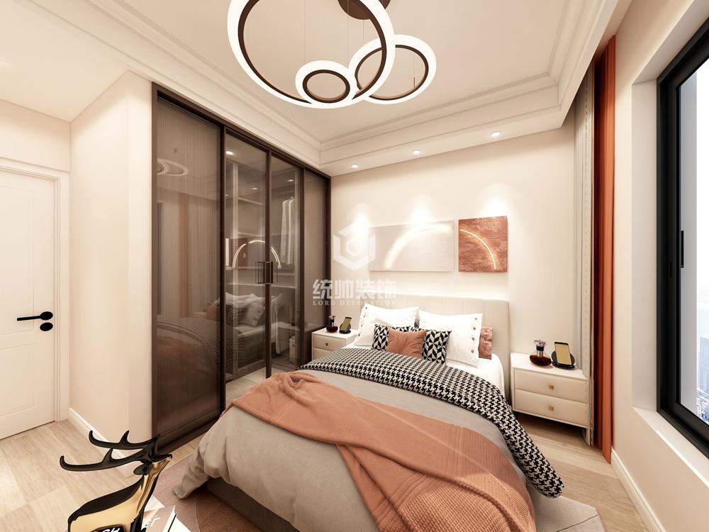 浦东保利叶130㎡现代简约三房二厅