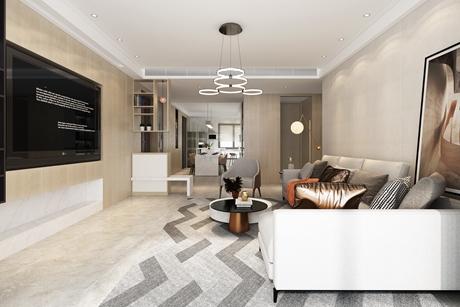 尚海郦景150㎡现代简约公寓