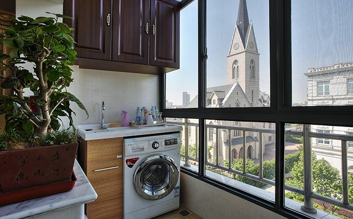 洗衣机放阳台真实用!但装修不好后患无穷