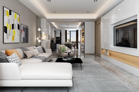 浦东塔拉夏170㎡现代简约四房二厅